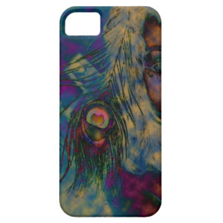 Psychedelic Peacock iPhone 5 Covers