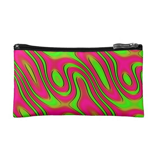 Psychedelic Pink Makeup Bag