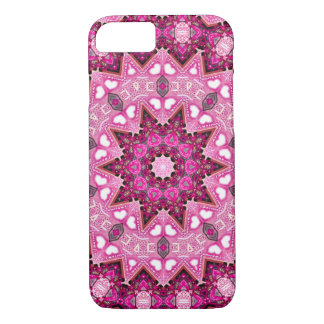 Psychedelic Pink Fractal iPhone 7 Case