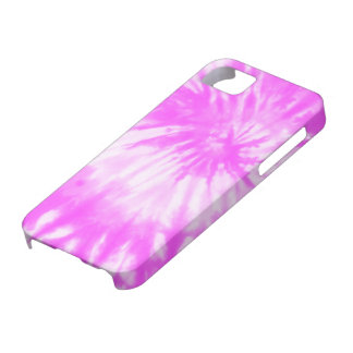 Psychedelic Pink Funk Tie Dye iPhone 5 Case