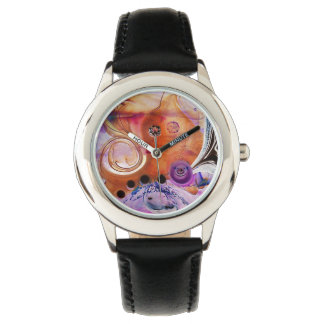 psychedelic, pink, purple, crazy, photography watches