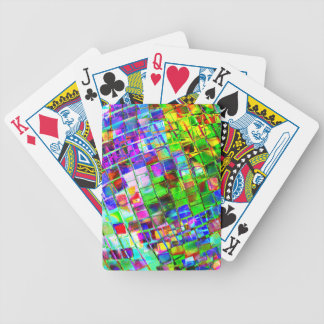 Psychedelic Planet Disco Ball Poker Deck