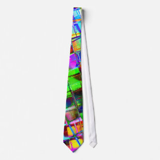 Psychedelic Planet Disco Ball Tie