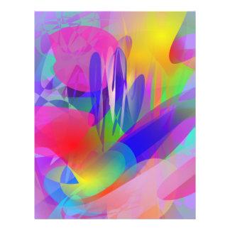 Psychedelic Plant Flyer Design