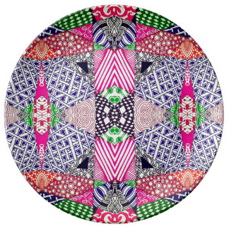 Psychedelic Plate