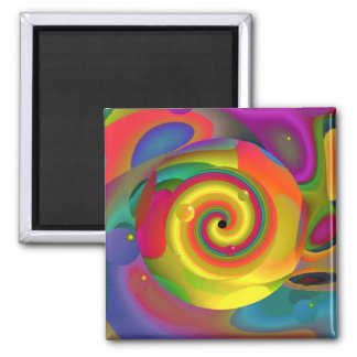 Psychedelic Punch Magnet