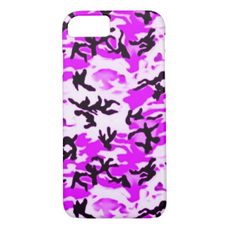 Psychedelic Purple Camo iPhone 7 Case