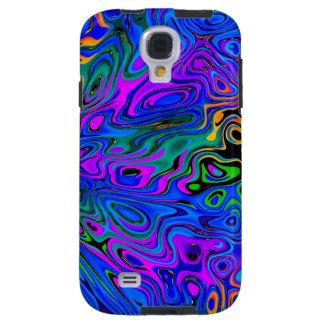 Psychedelic Purple Galaxy S4 Case