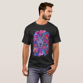 Psychedelic Purple Lion T-Shirt