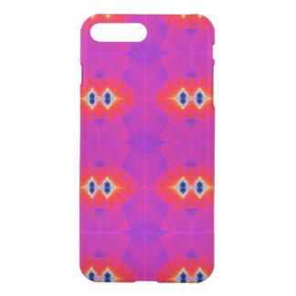 Psychedelic Purple Orange Artwork iPhone 7 Plus Case