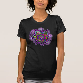 Psychedelic Purple Paisley T-Shirt