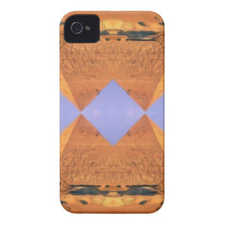 Psychedelic Pyramids iPhone 4 Covers