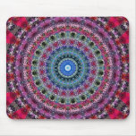 Psychedelic Radial Pattern: Mousepad