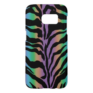 Psychedelic Rainbow Colorful Animal Print