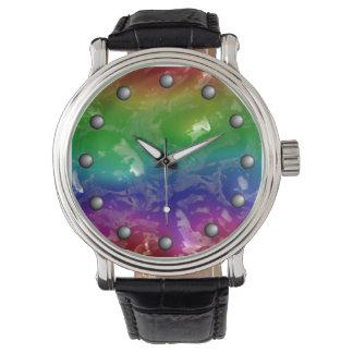 Psychedelic Rainbow Jellied Ooze Watch