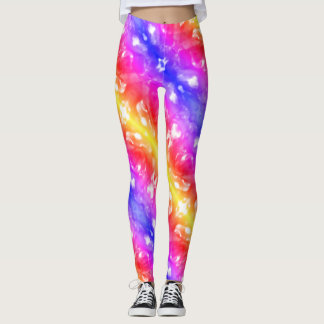 Psychedelic Rainbow Leggings