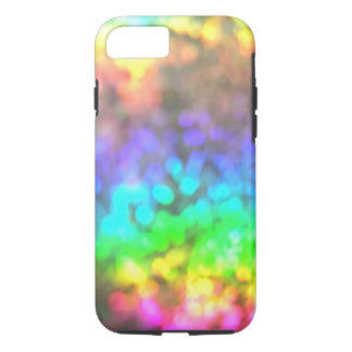 Psychedelic Rainbow Lights iPhone 7 Case