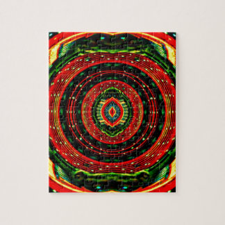 Psychedelic Rasta Jigsaw Puzzle