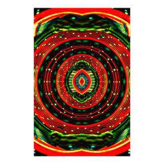 Psychedelic Rasta Stationery