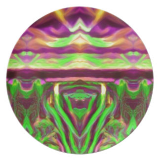 Psychedelic Rave Print Plate