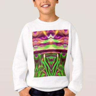 Psychedelic Rave Print Sweatshirt