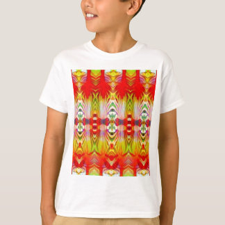 Psychedelic Red Yellow T-Shirt