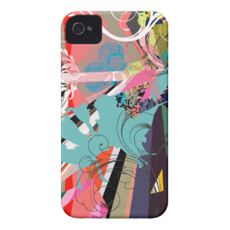 Psychedelic Retro Chic iPhone 4 Covers
