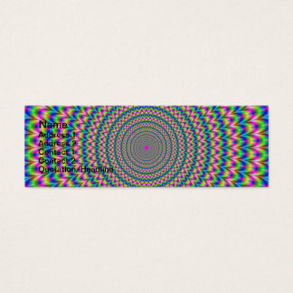 Psychedelic Rings Card