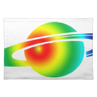 Psychedelic Saturn Placemat