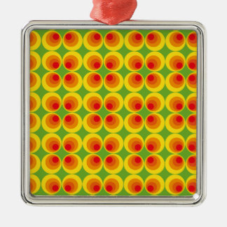psychedelic seventies metal ornament