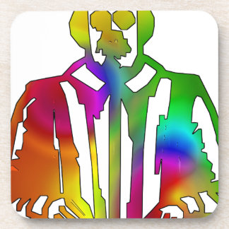 Psychedelic Shakespeare Beverage Coasters