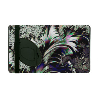 Psychedelic Silver and Chrome Ersatz Silverleaf iPad Folio Case