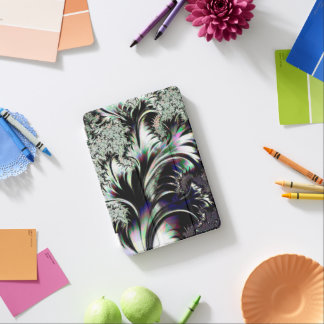 Psychedelic Silver and Chrome Ersatz Silverleaf iPad Mini Cover