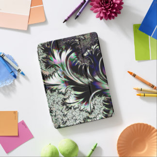 Psychedelic Silver and Chrome Ersatz Silverleaf iPad Pro Cover
