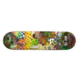 Psychedelic Skateboard