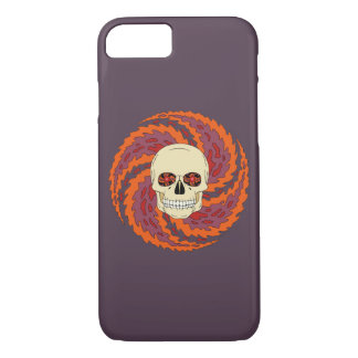 Psychedelic Skull iPhone 8/7 Case