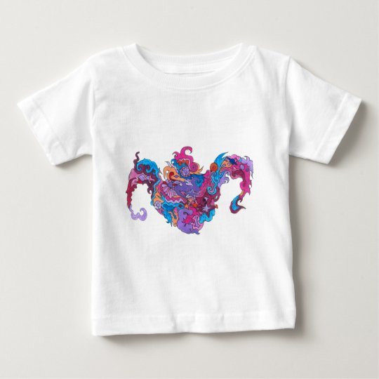 Psychedelic Smile Baby T-Shirt