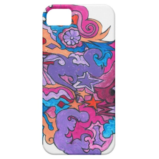 Psychedelic Smile Case For The iPhone 5