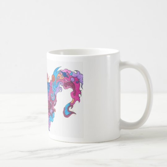 Psychedelic Smile Coffee Mug