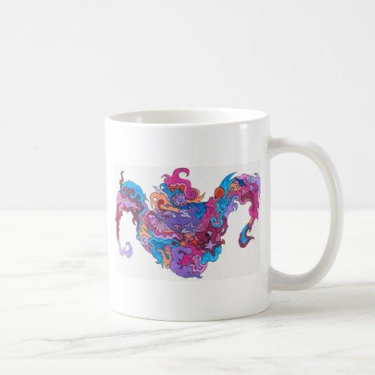 Psychedelic Smile Coffee Mug