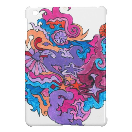 Psychedelic Smile iPad Mini Cover