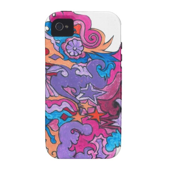 Psychedelic Smile iPhone 4/4S Covers