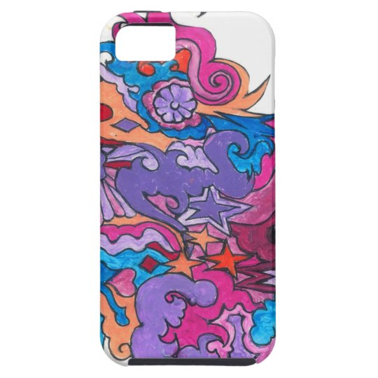 Psychedelic Smile iPhone 5 Case