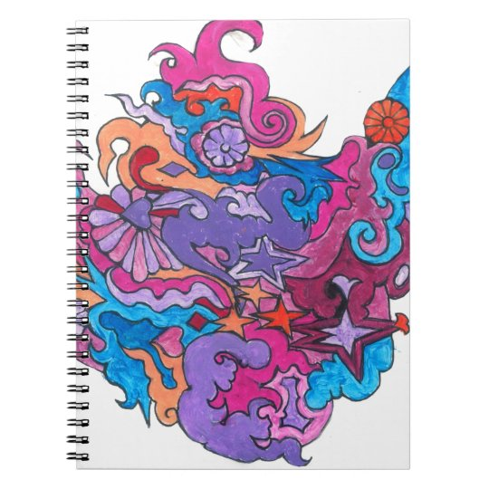 Psychedelic Smile Notebook