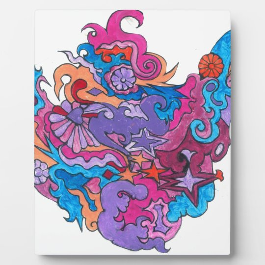 Psychedelic Smile Plaque