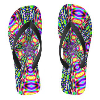 Psychedelic Space Portal Thongs
