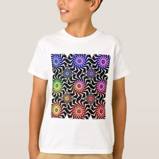 Psychedelic Spheres Pattern: T-Shirt