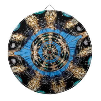 Psychedelic Spider Portal Dartboard