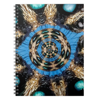 Psychedelic Spider Portal Notebook