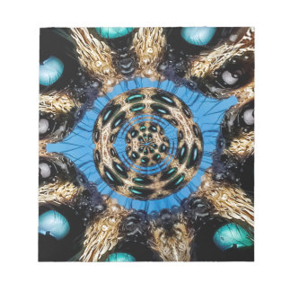 Psychedelic Spider Portal Notepad